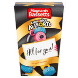 Maynards Bassetts Liquorice Allsorts Sweets Carton 400g