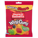 Maynards Bassetts Wine Gums Sweets Bag 400g