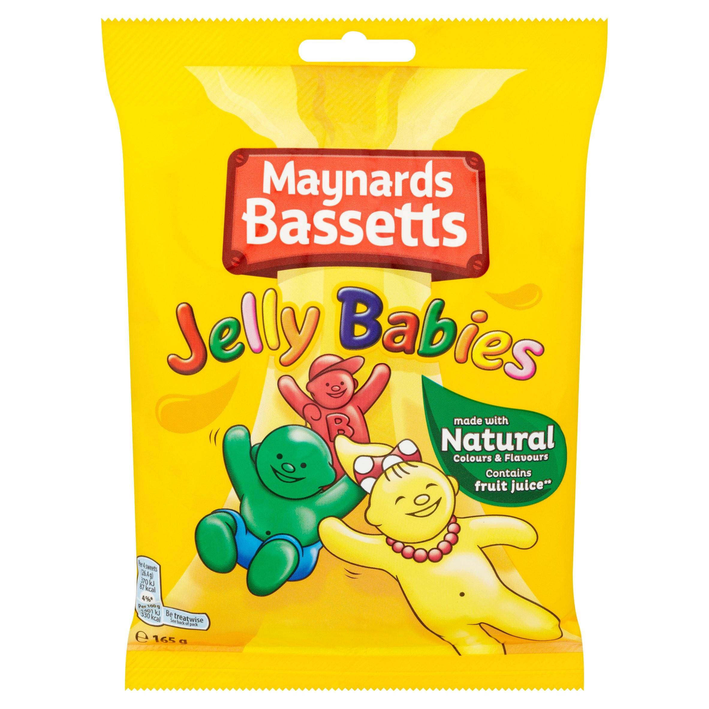 maynards bassetts jelly babies minis sweets bag pallet