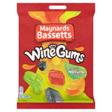 Maynards Bassetts Wine Gums Sweets Bag 165g