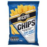 McCoy's Chip Shop Salt & Vinegar Flavour Potato Snack 130g