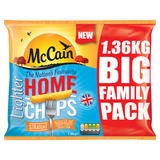McCain Lighter Home Chips Straight 1.36kg