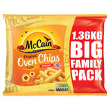 McCain Original Oven Chips 5% Fat Straight Cut 1.36kg