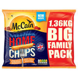 McCain Home Chips Straight 1.36kg