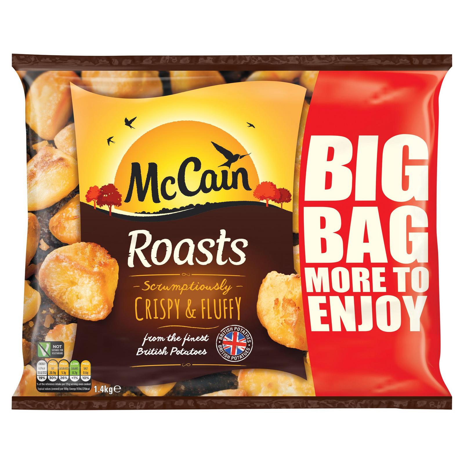 McCain Roasts 1 4kg | Potatoes | Iceland Foods