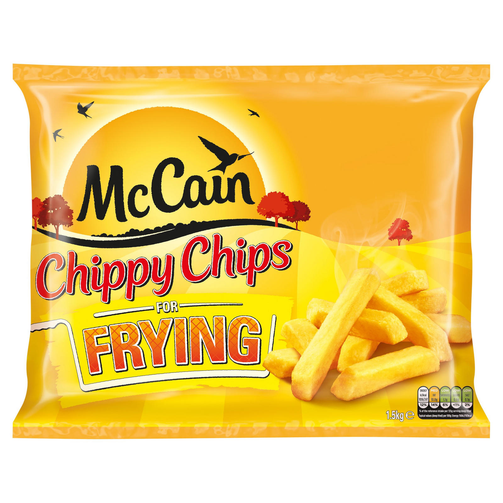 McCain Chippy Chips for Frying 1 5kg | Chips | Iceland Foods
