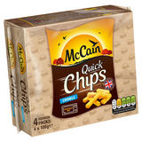 McCain Quick Chips Crinkle Cut 4 x 100g