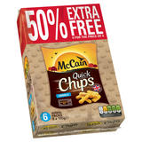 McCain Quick Chips Crinkle 6 x 100g (600g)