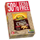 McCain Quick Chips Straight 6 x 100g (600g)