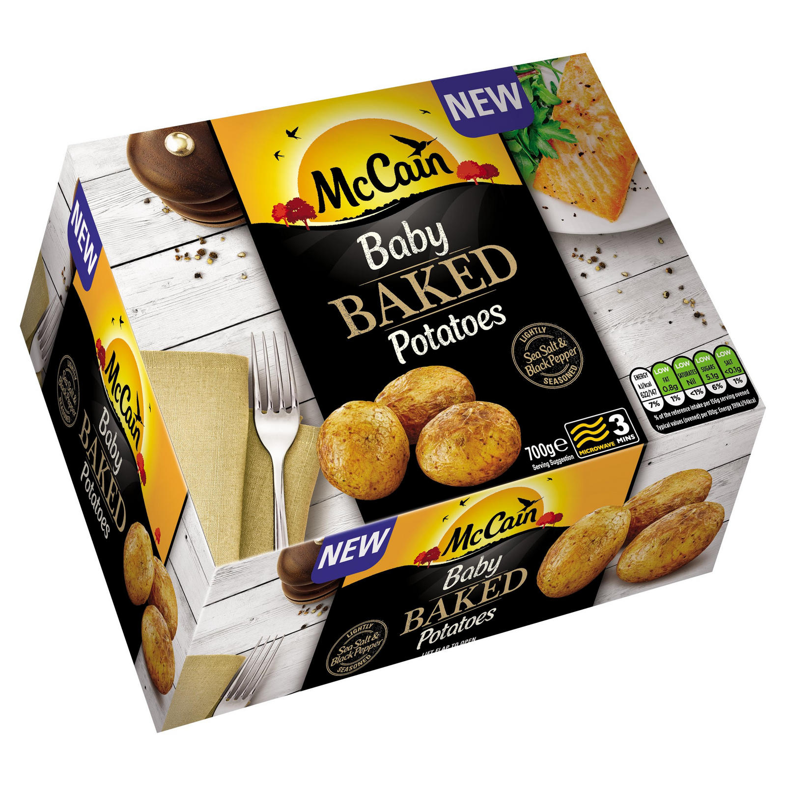 Mccain Baby Baked Potatoes 700g Potatoes Iceland Foods