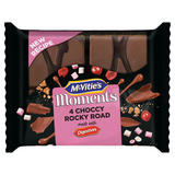 McVitie's Moments 4 Choccy Rocky Road