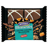 McVities Moments 4 Salted Caramel Billionaire
