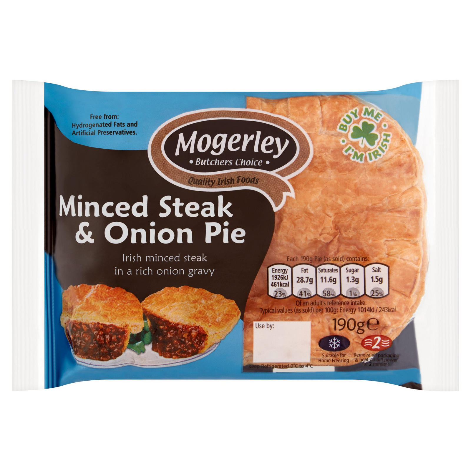 Mogerley Butchers Choice Minced Steak & Onion Pie 190g ...