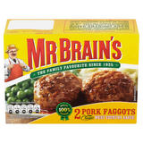 Mr Brain's 2 Pork Faggots 222g