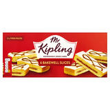 Mr Kipling 6 Bakewell Slices