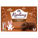 Mr Kipling 6 Chocolate Whirls