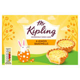 Mr Kipling 6 Lemon Bakewells