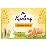Mr Kipling 6 Lemon Whirls