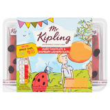 Mr Kipling 6 James' Chocolate & Raspberry Ladybird Slices