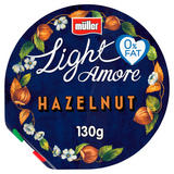 Müller Light Amore Hazelnut Yogurt 130g