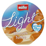 Muller Light Fat Free Toffee Yogurt 175g