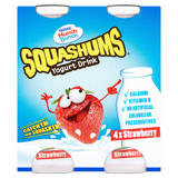 Munch Bunch Squashums Yogurt Drink Strawberry 4 x 90g (360g)