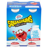 Munch Bunch Squashums Yogurt Drink Strawberry 4 x 90g (360g)