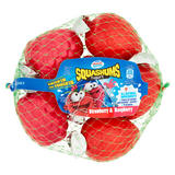 Munch Bunch Squashums Yogurt Strawberry & Raspberry 6 x 60g (360g)