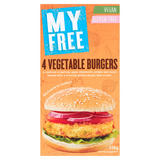 My Free 4 Vegetable Burgers 228g