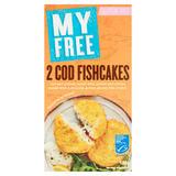 My Free Gluten Free 2 Cod Fishcakes 180g