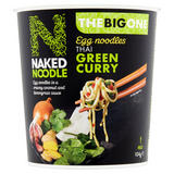 Naked Noodle The Big One Egg Noodles Thai Green Curry 104g