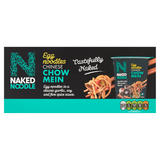 Naked Noodle Egg Noodles Chinese Chow Mein 6 x 78g (468g)