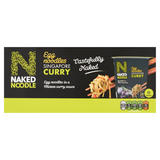 Naked Noodle Egg Noodles Singapore Curry 6 x 78g (468g)