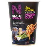 Naked Noodle Egg Noodles Cantonese Hoisin Duck 78g