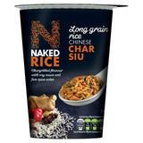 Naked Rice Long Grain Rice Chinese Char Siu 78g