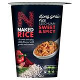 Naked Rice Long Grain Rice Szechuan Sweet & Spicy 78g