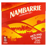 Nambarrie Nice and Strong 200 Tea Bags 580g