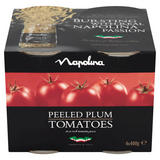 Napolina Peeled Plum Tomatoes in a Rich Tomato Juice 4 x 400g