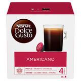 NESCAFE Dolce Gusto Americano Coffee Pods 16 Capsules Per Box
