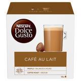 NESCAFÉ Dolce Gusto Cafe Au Lait Coffee Pods 16 Capsules Per Box