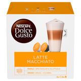 NESCAFÉ Dolce Gusto Latte Macchiato Coffee Pods 16 Capsules Per Box