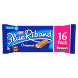 Blue Riband Milk Chocolate Wafer Biscuit 18g 16 Pack