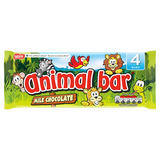 Animal Bar® Milk Chocolate Bar Multipack 76g (4 x 19g)