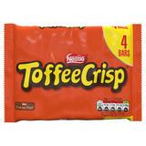 TOFFEE CRISP Multipack 4 x 31g