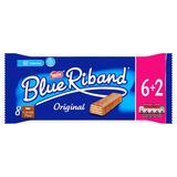 Blue Riband Original Milk Chocolate Wafer Biscuits 6+ 2 Free144g
