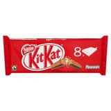 KITKAT 4 Finger Milk Chocolate Bar 41.5g 8 Pack