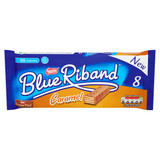 Blue Riband Milk Chocolate Caramel Wafer Biscuit 20g 8 Pack