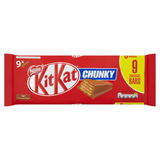 Kit Kat Chunky Milk Chocolate Bar 32g 9 Pack