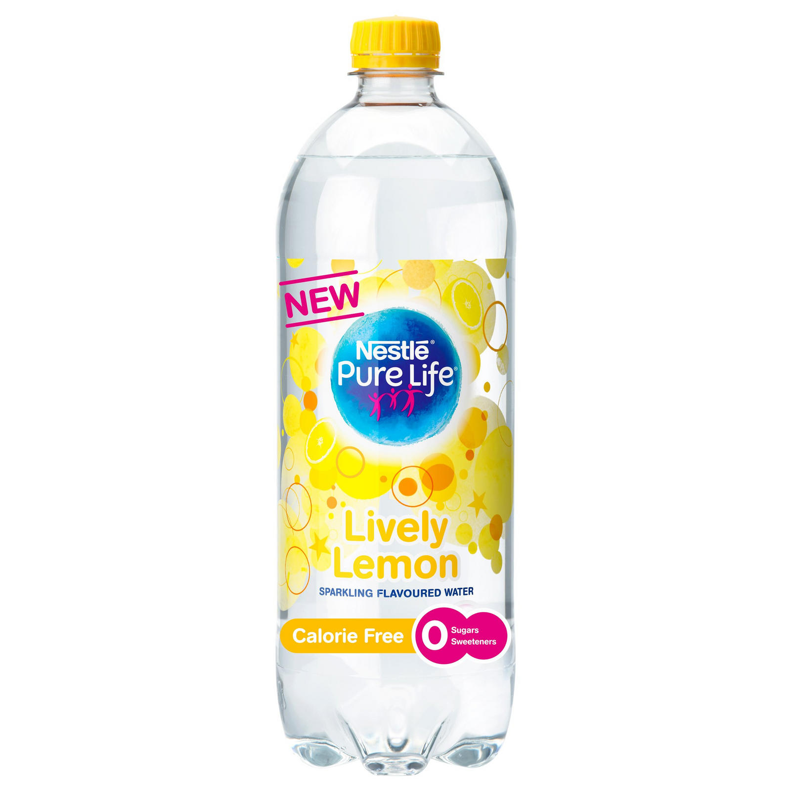 Nestle Pure Life Sparkling Lemon Water 1L | Bottled Drinks | Iceland