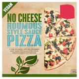 No Cheese Houmous Style Sauce Pizza 284g